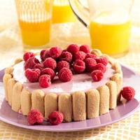 Recept - Kwarktaart met frambozen - Zonnigfruit