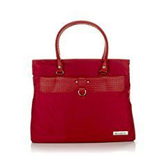 Travelsmith Bags. TravelSmith Express Travel Shoulder Bag (Red).  #travelsmith #bags #travelsmithbags
