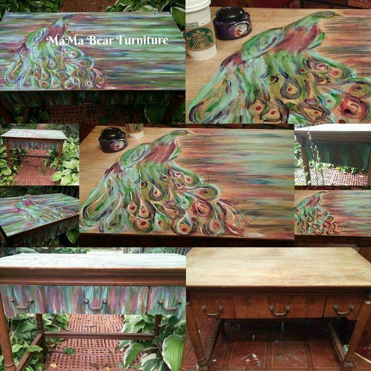 Unicorn Spit Peacock In Process Paint Pinterest