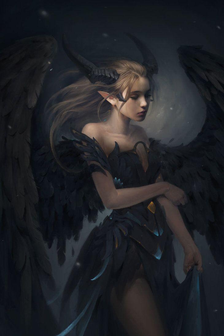 "my newest artwork - full version of "" Maleficent"" artwork! hope everybody love her! BTW my commission 2017 are open here :leekent.deviantart.com/art/Lee…"