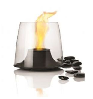 Stelton's Feugo Firelight perfect for any Summer Evening the perfect contemporary little fire for light and atmosphere. Danish design classic.