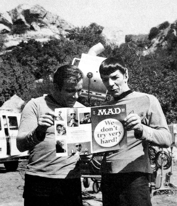 Leonard Nimoy and William Shatner (Source: http://www.trekcore.com/specials/thumbnails.php?album=5)