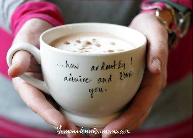 Easy Personalized White Mugs