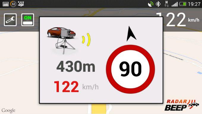 Radar Beep cab app avisador radares http://www.android.com.gt/radar-beep-un-completo-avisador-de-radares-en-tu-android#.UvwR7GJ5M-I