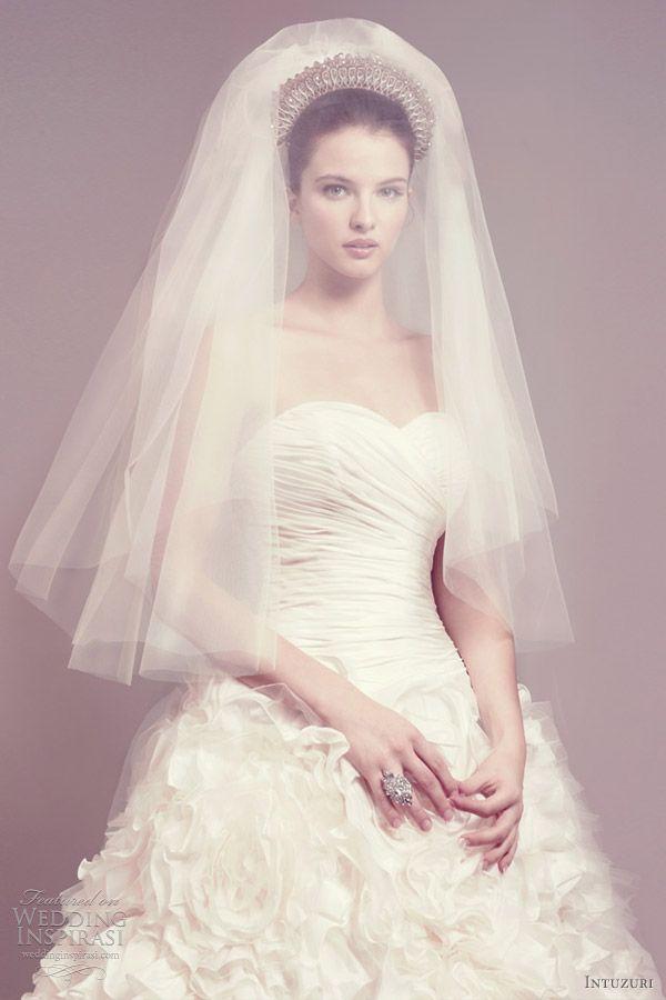 nice crown and veil .