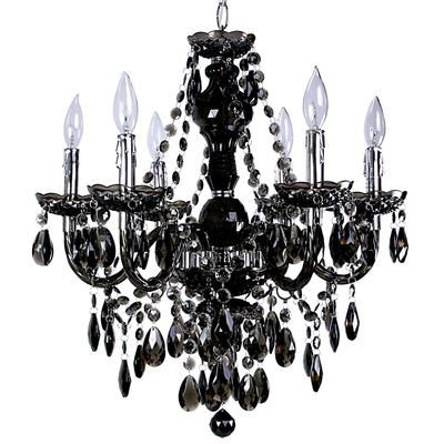 Black chandelier @Home Depot Canada #sarahrichardson