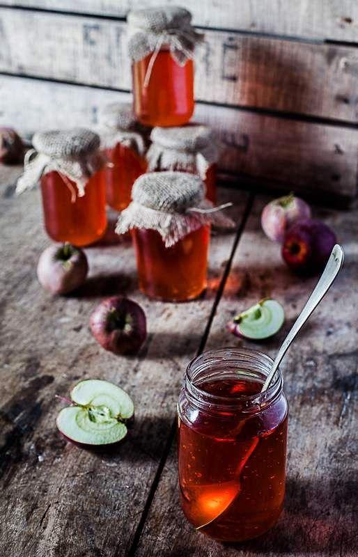 Gourmandises Chroniques: Histoire de pommier ou le temps des gelées de pommes...