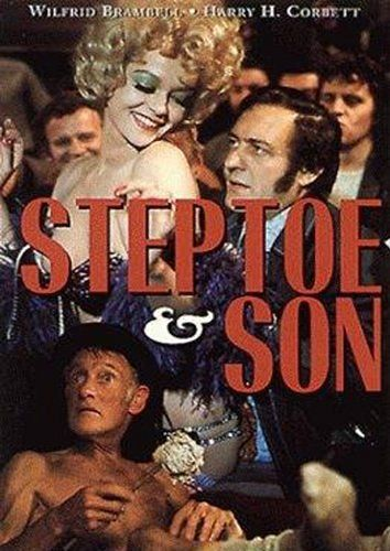 Steptoe and Son 1972 In this class British comedy, Albert Steptoe and son Harold are junk dealers in London's east end and rub along together at the yard. Harold likes the bright lights of the West End and meets a stripper whom he marries. When he takes her home to Albert, the oldster is furious and tries to drive the bride away!..16