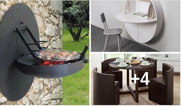 Mira estas ideas de muebles para ahorrar espacio en el tu hogar