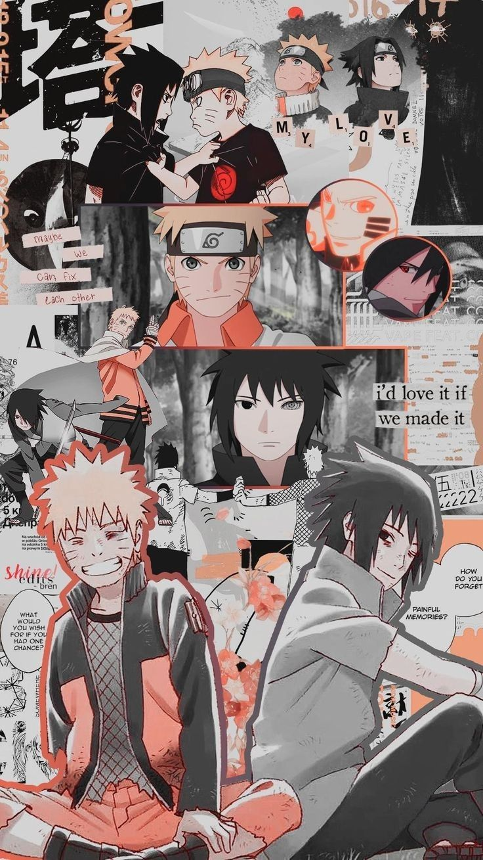 Naruto E Sasuke Com Imagens Wallpaper Animes Animes