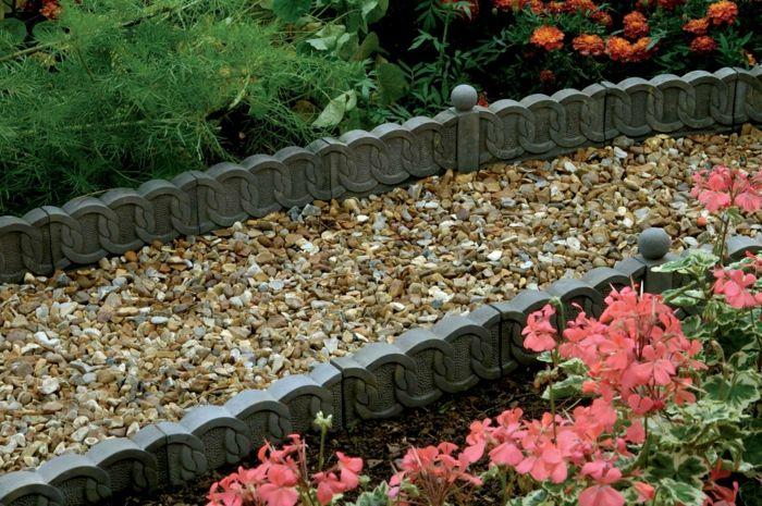 1001 Idees Deco Fantastiques Avec Bordure De Jardin Bordure Jardin Amenagement Jardin Et Idee Deco Jardin