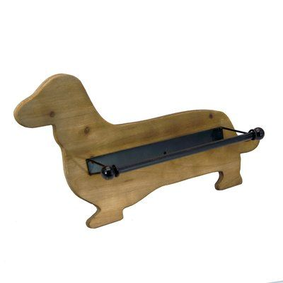 American Mercantile Eclectic Dachshund Paper Towel Holder