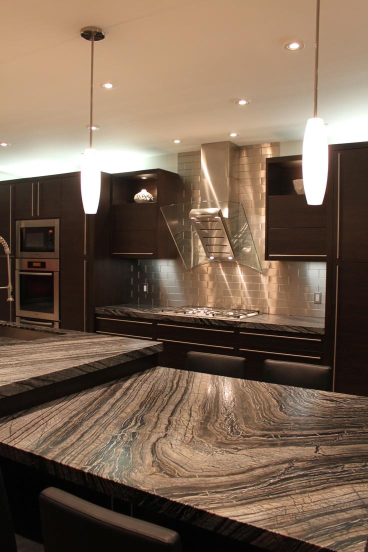 Silver Wave Kitchen Look At Those Veins Granite
