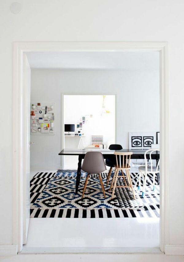 Die besten 25+ zeitgenössische Teppiche Ideen auf Pinterest - designer teppiche moderne einrichtung