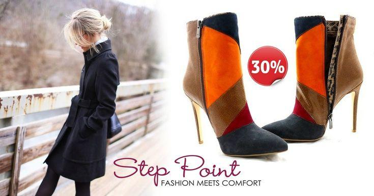 Μποτάκια Tiziana <3 <3 <3 Τώρα -30%!!! http://www.step-point.gr/mpotakia-tiziana.html