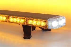 50 AMBER LED LIGHT BAR FLASHING WARNING HIGH POWER TAKE  1000x667