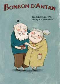 Carte postale - Bonbon d'Antan -Anne Laval | Livres Jeunesse - Vente & achat de Carte postale - Bonbon d'Antan -Anne Laval (Editions de mai) - Carte postale, affiche, cahier / Carte postale