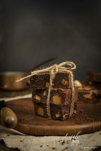 Whittaker's Peanut Butter Chocolate & Caramel Brownie   Little Box Brownie