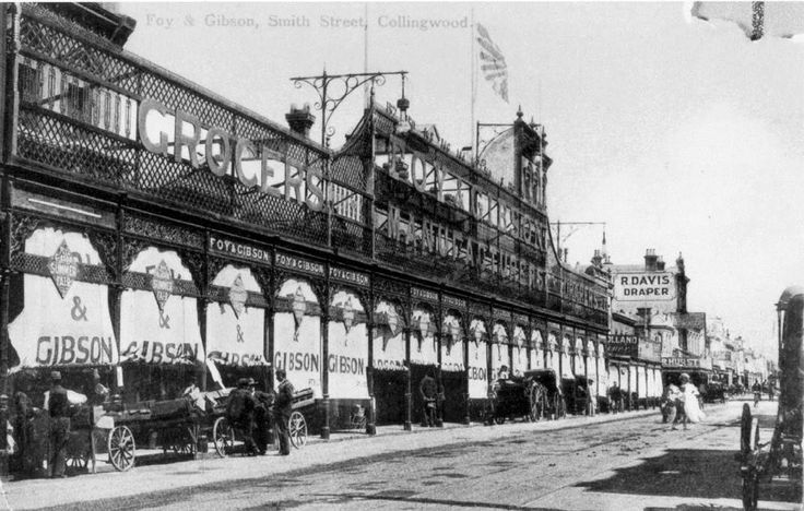 Foy and Gibsons, Collingwood, 1906. Smith St. Collingwood. Melbourne