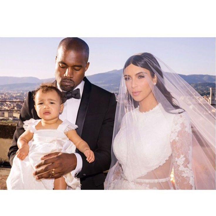 Słynne suknie ślubne gwiazd, Kim Kardashian, 2014 rok