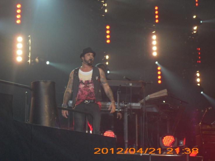 AJ Dublin 2012