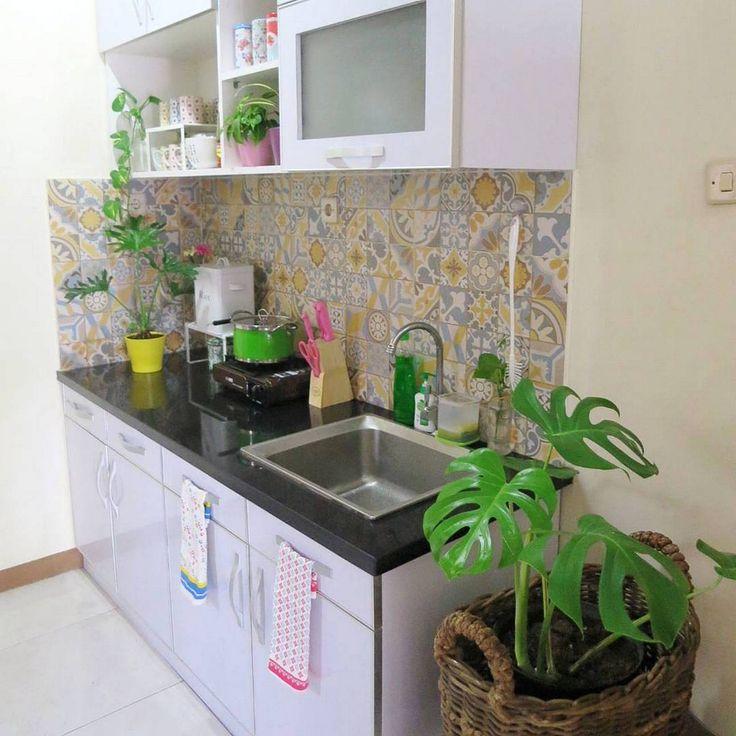 Ide Model Keramik Dinding Dapur  Dapur Minimalis Idaman