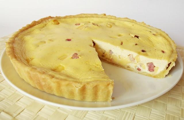 Citromhab: Sonkás, sajtos pite