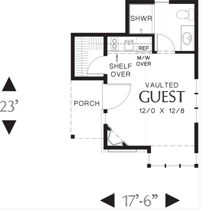 448 Best 1 000 Sq Ft Or Less Images On Pinterest Small House Plans Tiny And Homes