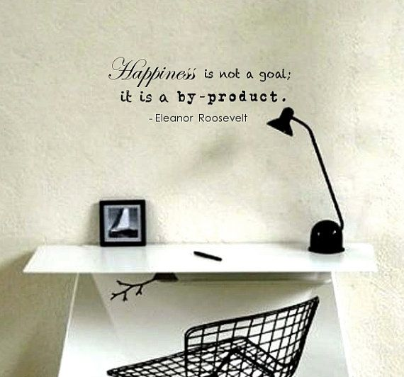 Wall Decal Quote by Eleanor Roosevelt  by TenaciousQuotations