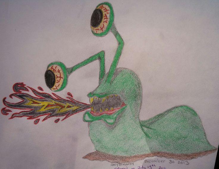 Slug (in colour)