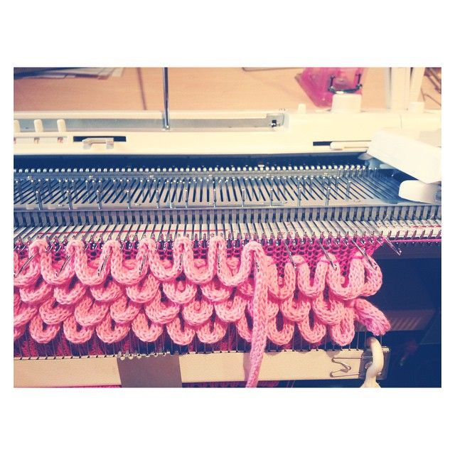 Knitting Loom Machine : Best knitwear images on pinterest knit fashion