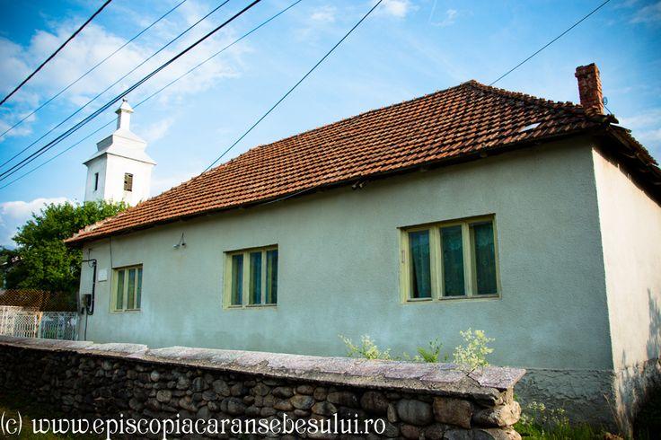 "Romanian Orthodox Church ""Saint Demetrius, the Great Martyr"" from Bucova, Caraș-Severin County, Romania The Church was built in 1857. Romanian Orthodox Diocese of Caransebeș. Parish House."