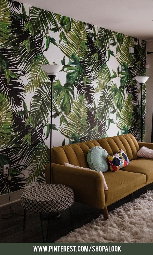 tropical home decor items fresh green tropical removable wallpaper afflink wallpaper  removable wallpaper afflink wallpaper