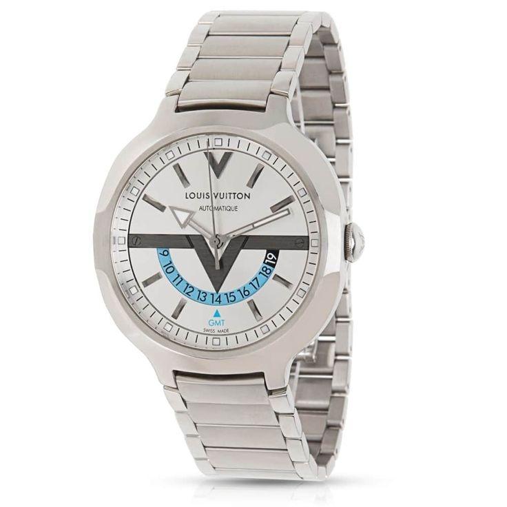Refurbished Louis Vuitton Q7D311 Men's Watch in