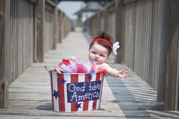 Fourth of july baby pictures