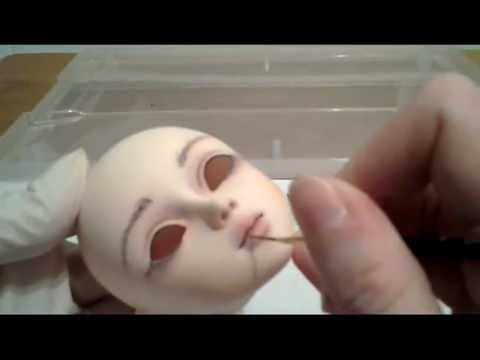 ▶ How to ROCK at BJD faceups: A Brief Look at Process - YouTube