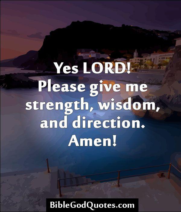 Lord Please Give Me Strength Jerusalem House