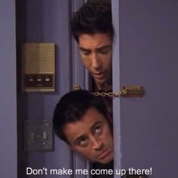 Joey and Ross Friends tv show Funny quotes