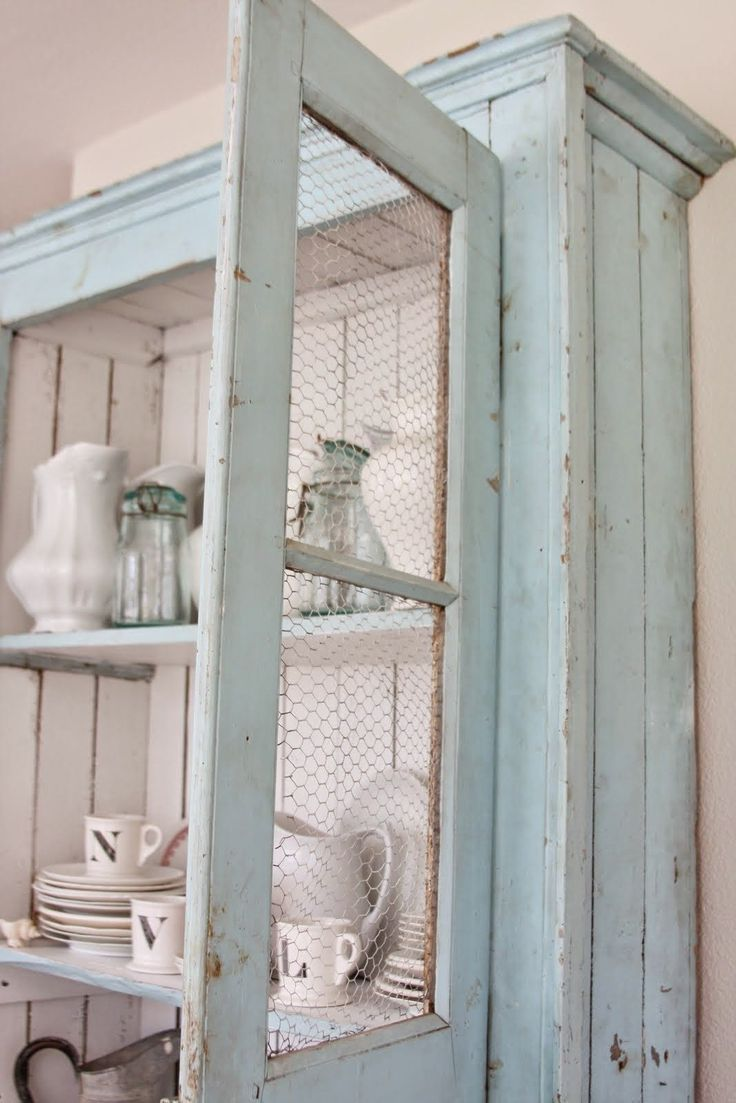 Best 25  Chicken wire cabinets ideas on Pinterest | Replacement ...