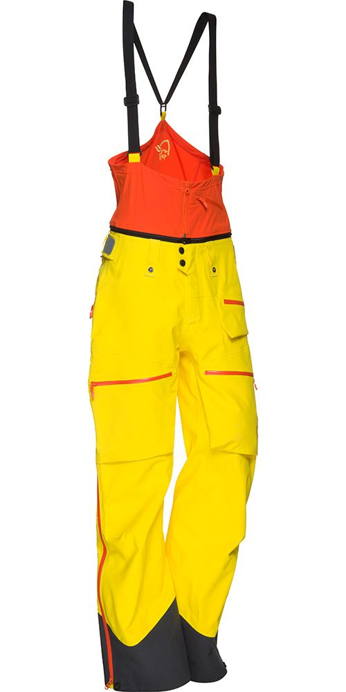 #autumnhighlights Norrona Women's Lofoten GTX Pro Pants. Go big and bold in these incredible bib pants from Norrona, they're durable, functional and give a great fit for freeride epics.