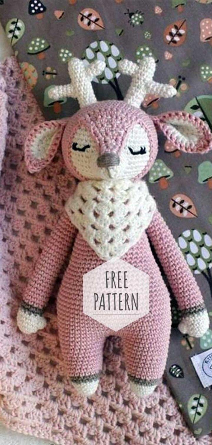 Amigurumi Deer Free Pattern Crochet Christmas Crochet Patterns