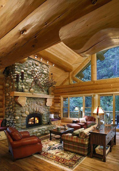 67 Best Dream Log Cabins Images On Pinterest