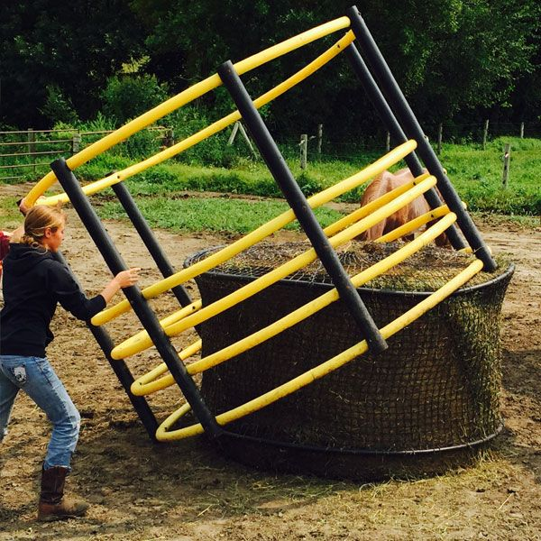 Best round bale feeders images on pinterest horse