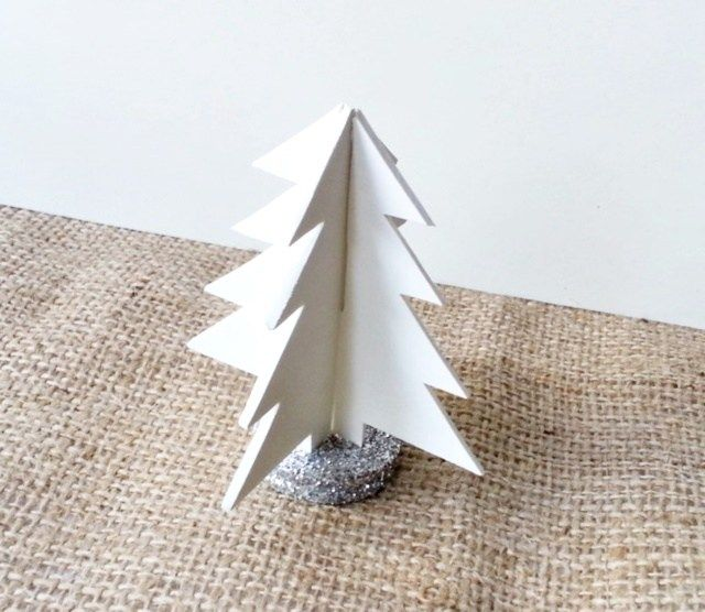 This 3D Christmas tree using the free template is super easy to make and doesn't take much time. Gather all the materials, including foam board and enjoy making one!
