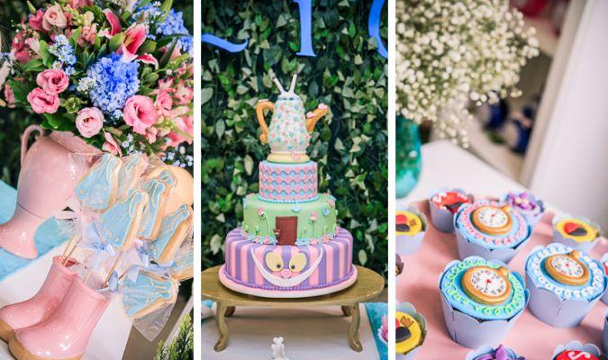Sou apaixonada pelo tema Alice no País das Maravilhas para decoração de festa infantil. Acho que com ele dá para fazer uma festa delicada, colorida e, principalmente, encantadora. E por gostar tanto assim desse tema, trago mais uma festinha com ele aqui para vocês. Essa é a festinha de uma Alice de verdade, por isso, …