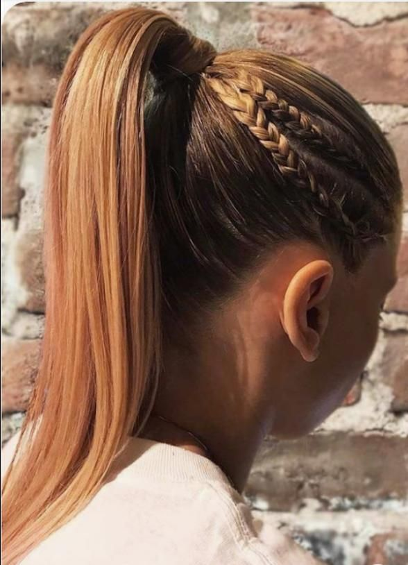 Braids For Long Hair Thick Hair Styles Long Hair Styles Ponytail Hairstyles Hairstyles For Thin Hair Brai In 2020 Braided Hairstyles Long Hair Styles Thick Hair Styles