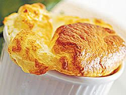 Smoked Haddock Soufflé - Warm sunny days call for light delicate meals. This soufflé is easy to prepare. It can constitute the main course, or it can be made in small individual soufflé dishes and served as a first course.