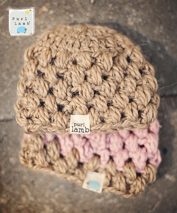 Purl Lamb: Puffy Preemie Hat Pattern
