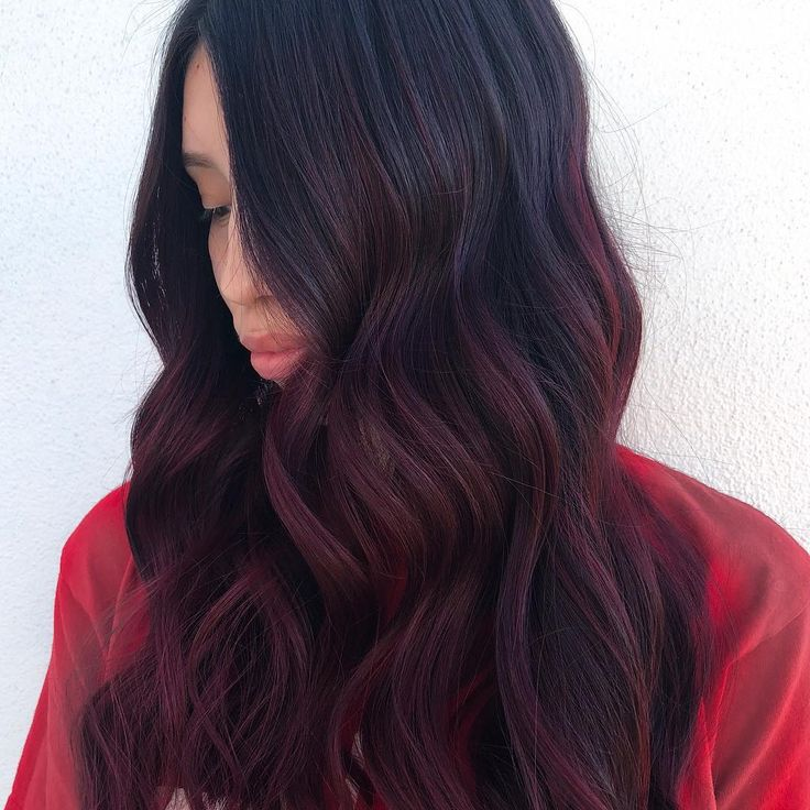 Trends 2018 Red Hair Color Gorgeous Deep And Rich Cherry Cola