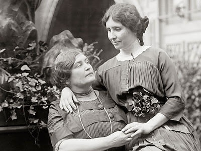 Teaching Through the Ages: Anne Sullivan with her famous student, Helen Keller